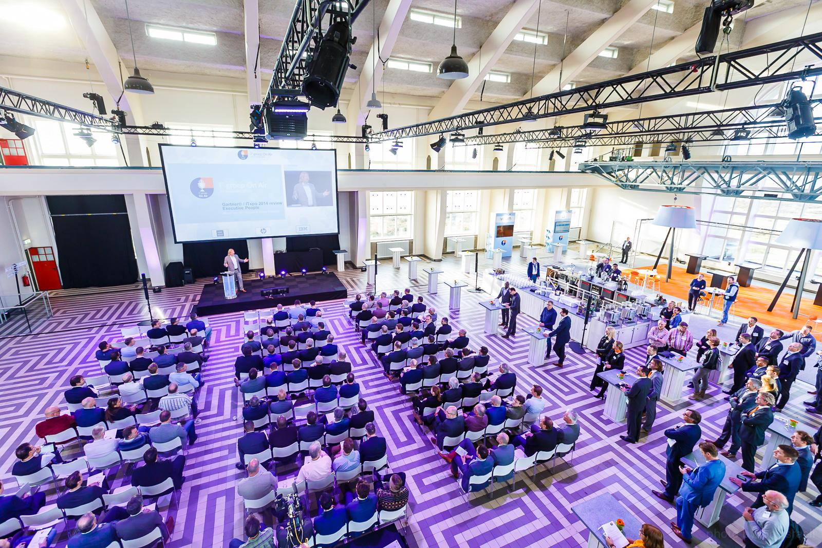 Evenementenfotograaf voor congressen